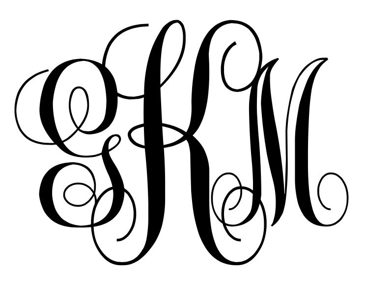 monogram svg maker #895, Download drawings