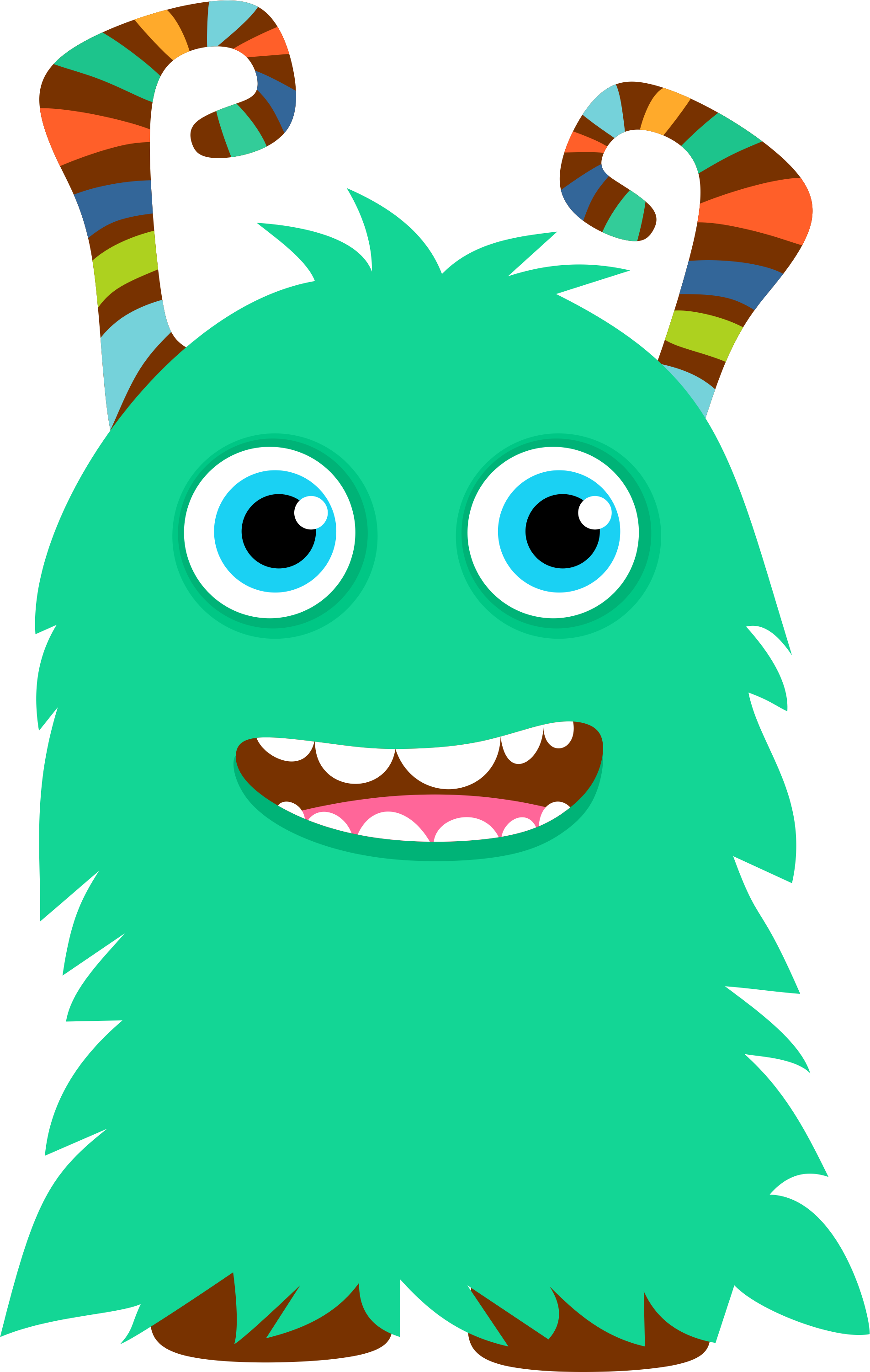 Monster clipart #5, Download drawings