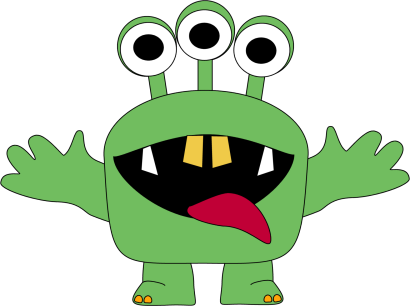 Monster clipart #9, Download drawings