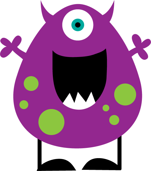 Monster clipart #8, Download drawings