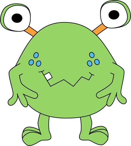 Monster clipart #17, Download drawings