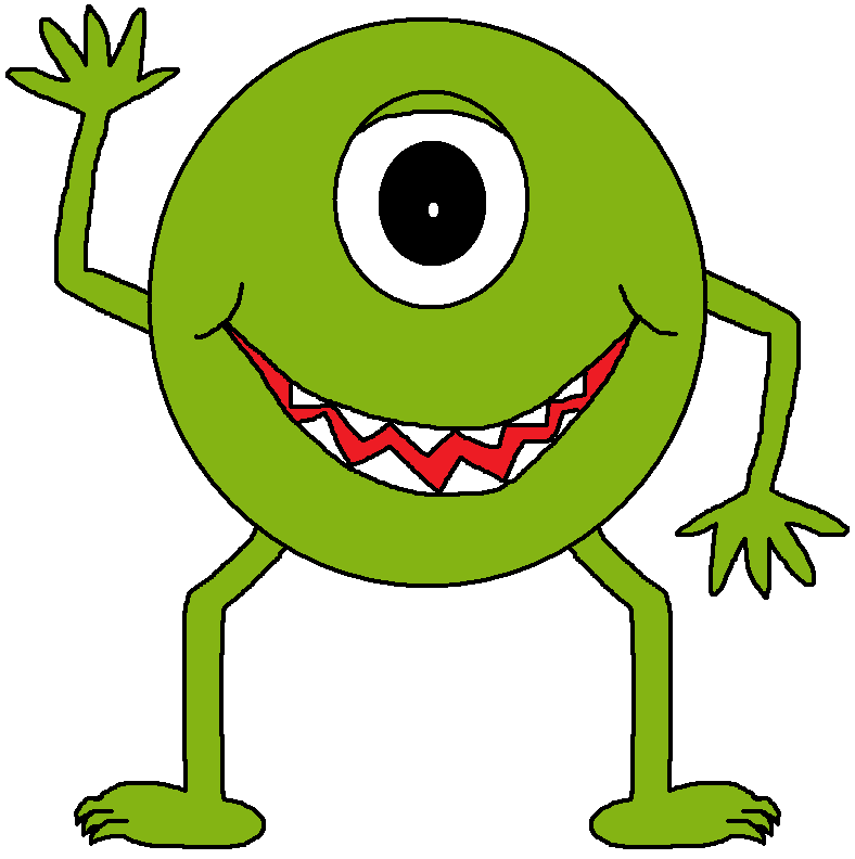 Monster clipart #7, Download drawings