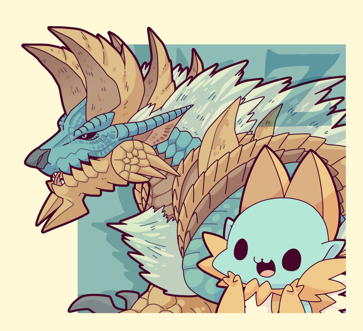 Monster Hunter Series clipart #3, Download drawings