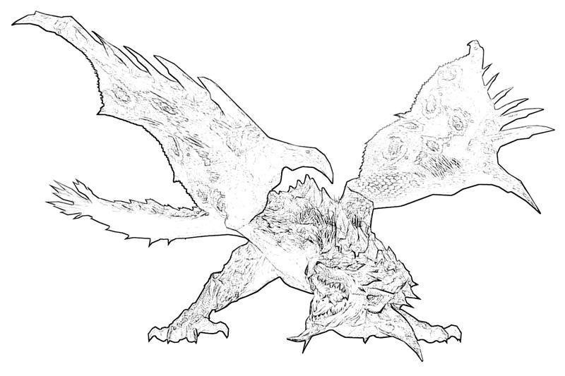 Monster Hunter Series coloring #18, Download drawings