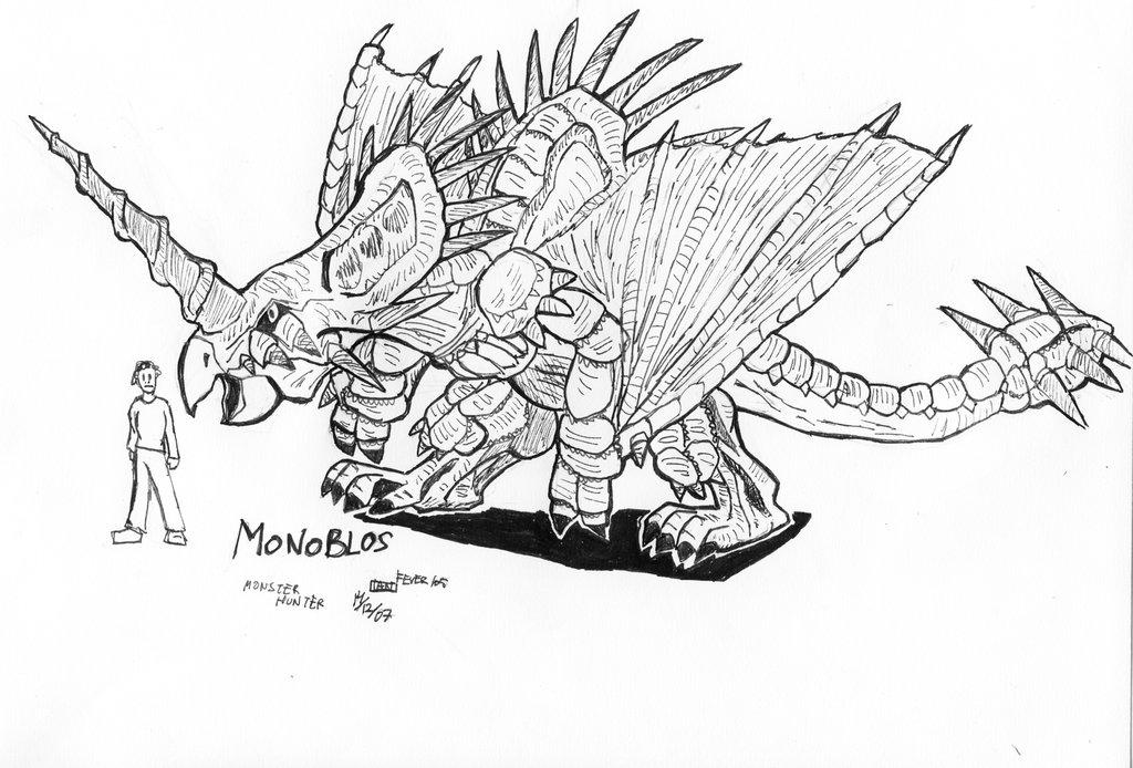 Monster Hunter Series coloring #6, Download drawings