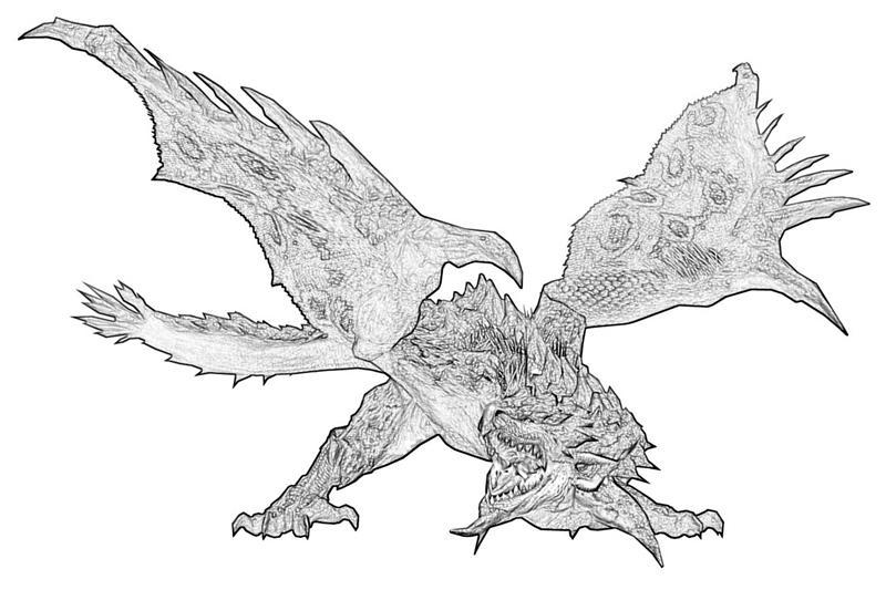 Monster Hunter Series coloring #13, Download drawings