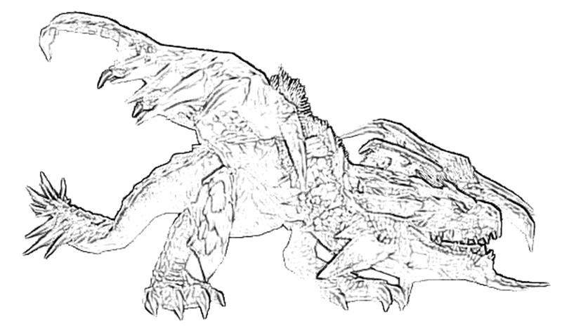 Monster Hunter Series coloring #8, Download drawings