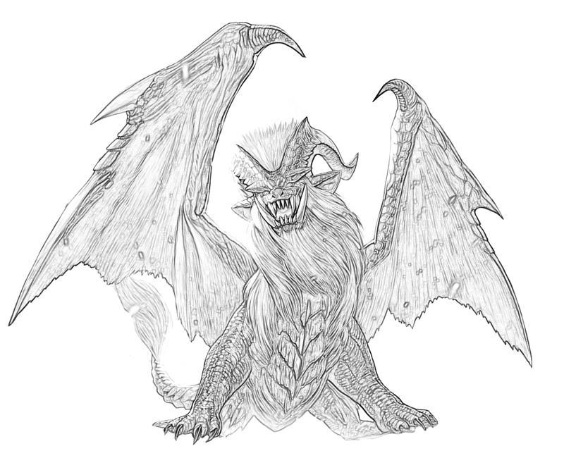Monster Hunter Series coloring #20, Download drawings