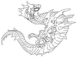 Monster Hunter Series coloring #12, Download drawings