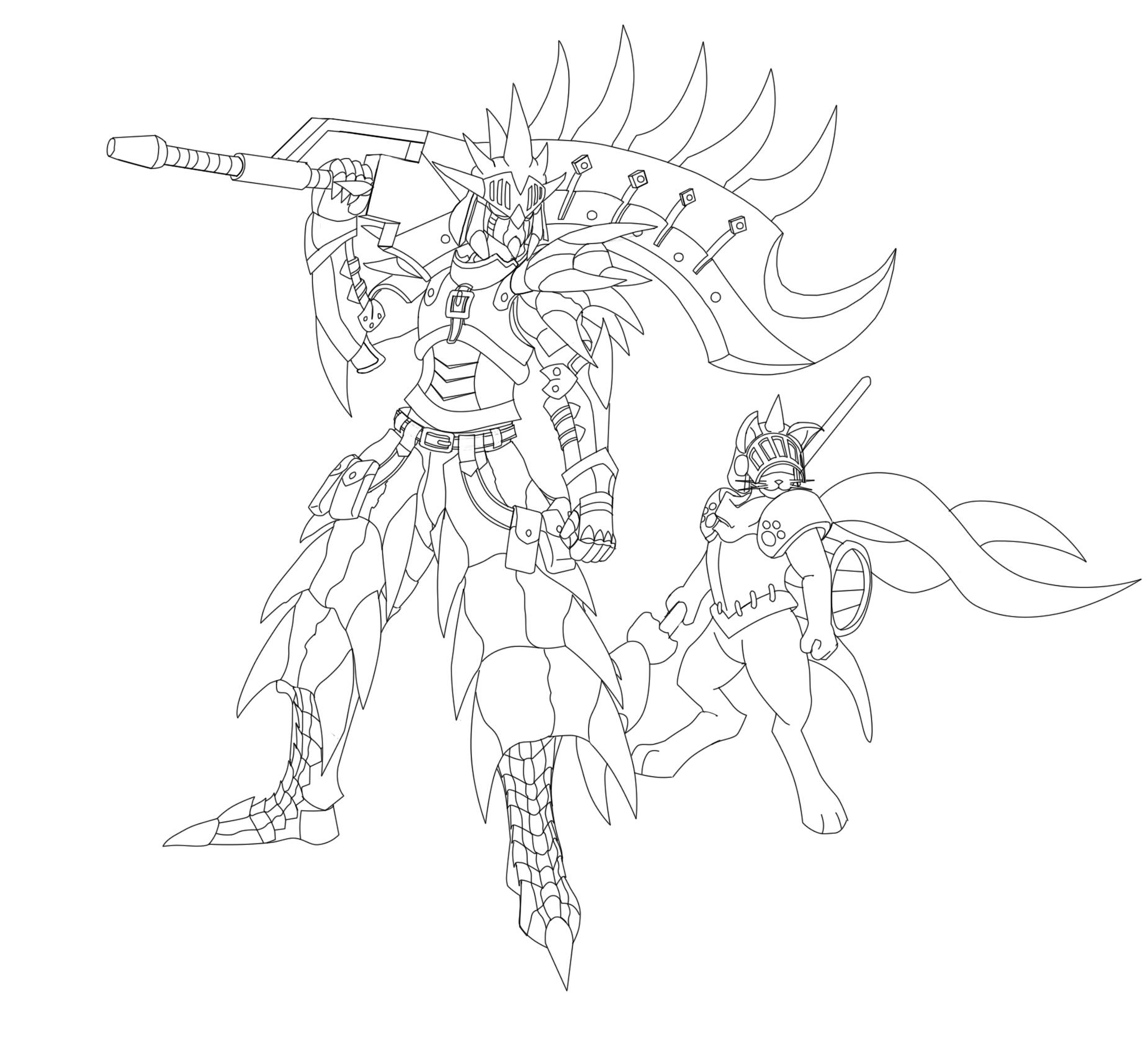 Monster Hunter Series coloring #9, Download drawings