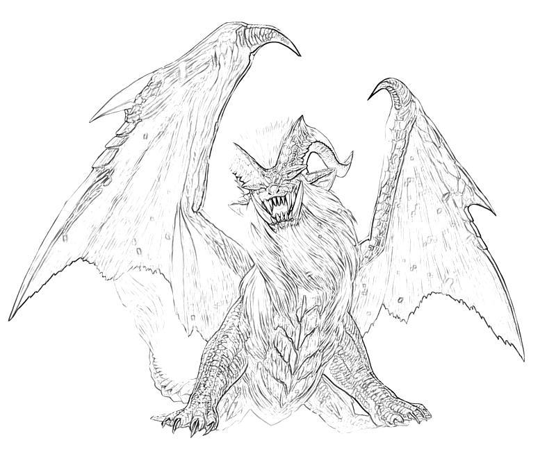 Monster Hunter Series coloring #15, Download drawings