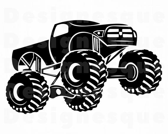 monster truck svg #1202, Download drawings