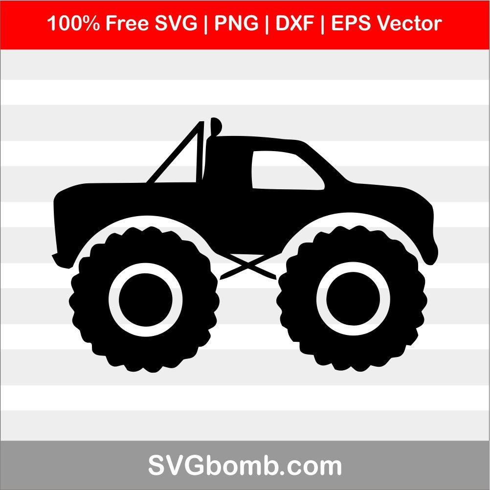 monster truck svg #1203, Download drawings