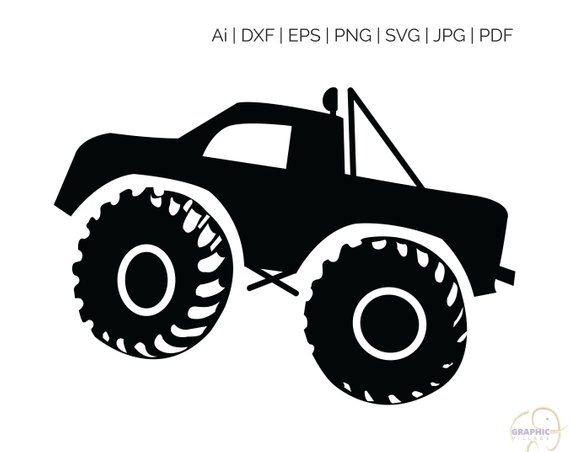 monster truck svg #1204, Download drawings