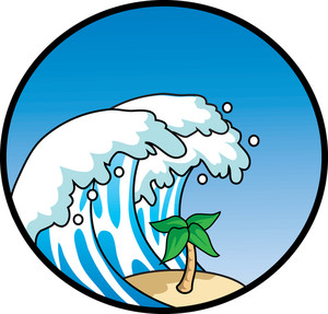 Monster Waves clipart #4, Download drawings