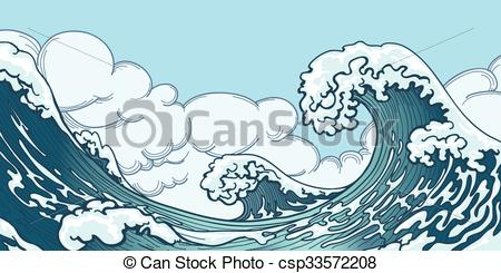 Monster Waves clipart #14, Download drawings