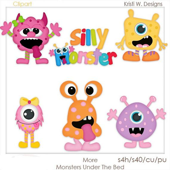 Monsters  Bed Head clipart #14, Download drawings