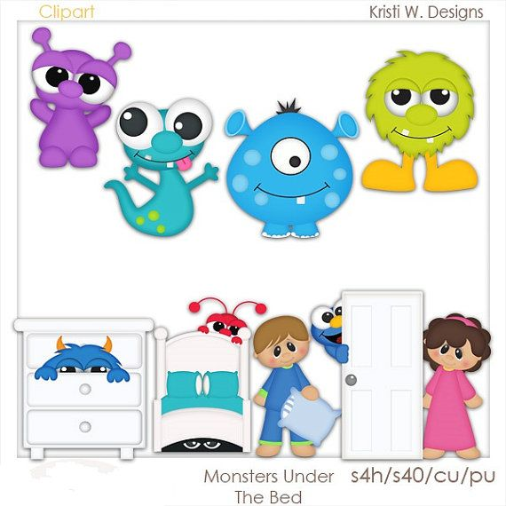 Monsters  Bed Head clipart #11, Download drawings