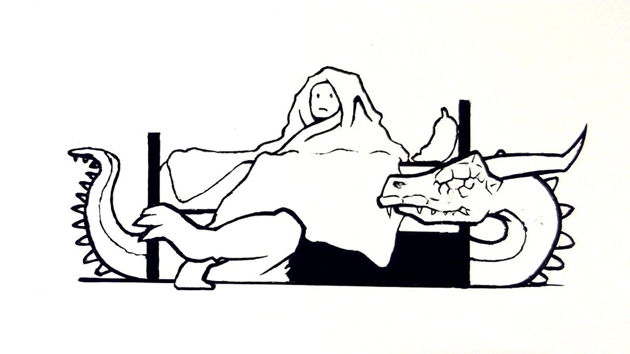Monsters  Bed Head coloring #7, Download drawings