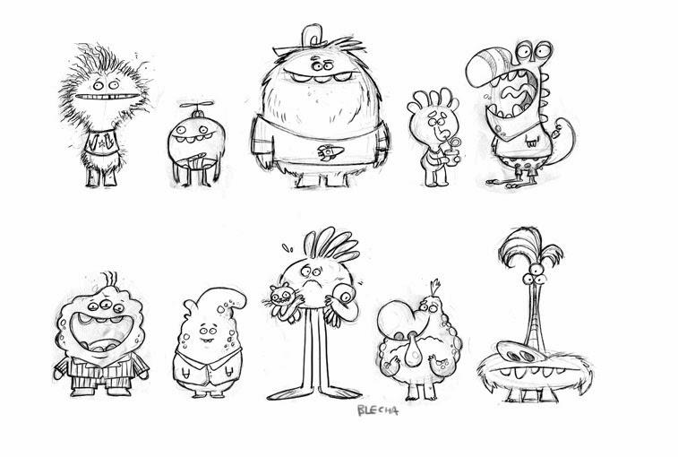 Monsters  Bed Head coloring #2, Download drawings