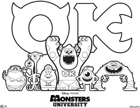 Monsters  Bed Head coloring #11, Download drawings