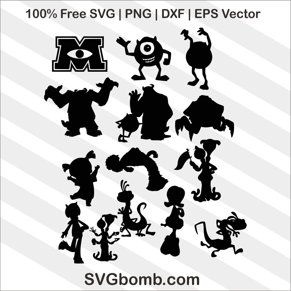 monsters inc svg #353, Download drawings