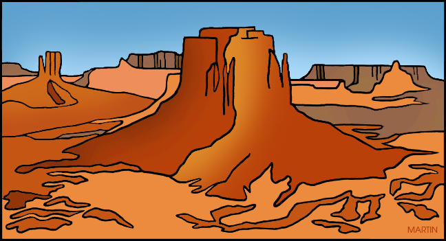 Monument Valley clipart #12, Download drawings