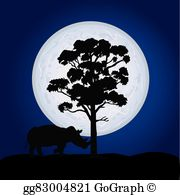Moonlight clipart #10, Download drawings