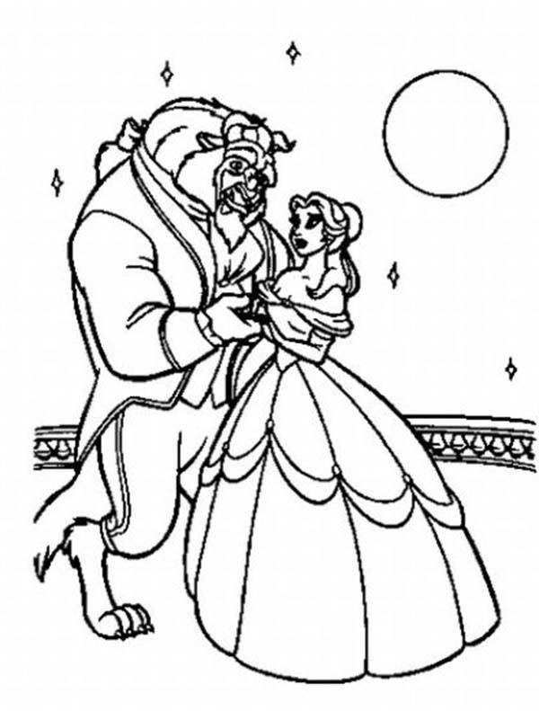 Moonloght coloring #14, Download drawings