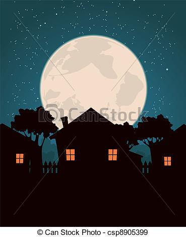 Moonrise clipart #13, Download drawings