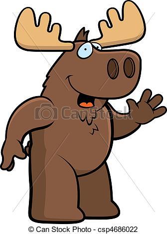 Moose clipart #11, Download drawings