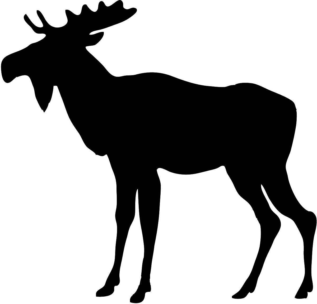 Moose clipart #4, Download drawings