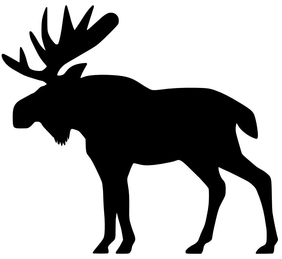 Moose clipart #9, Download drawings