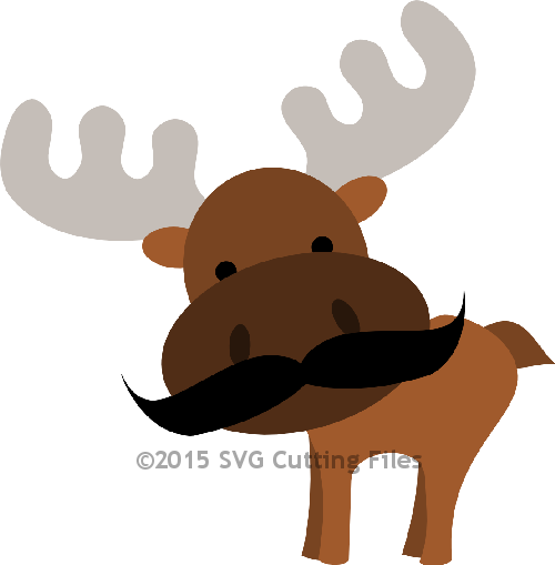 Moose svg #606, Download drawings