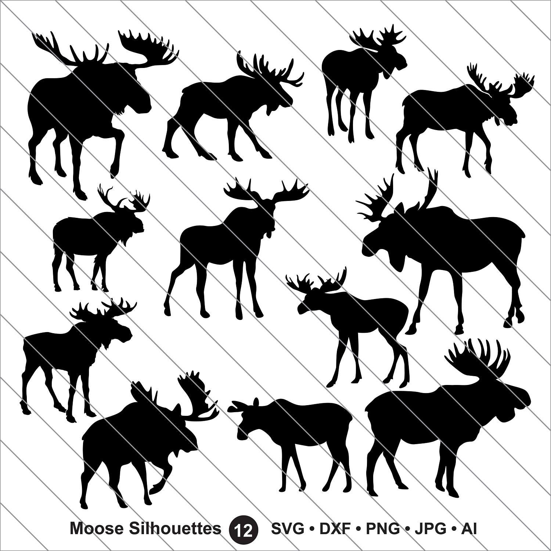 Moose svg #9, Download drawings