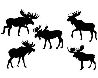 Moose svg #334, Download drawings