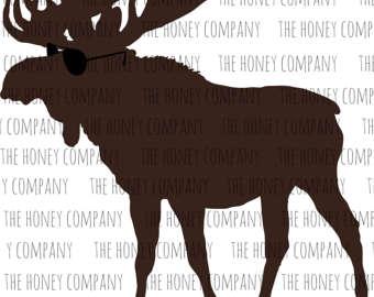 Moose svg #4, Download drawings