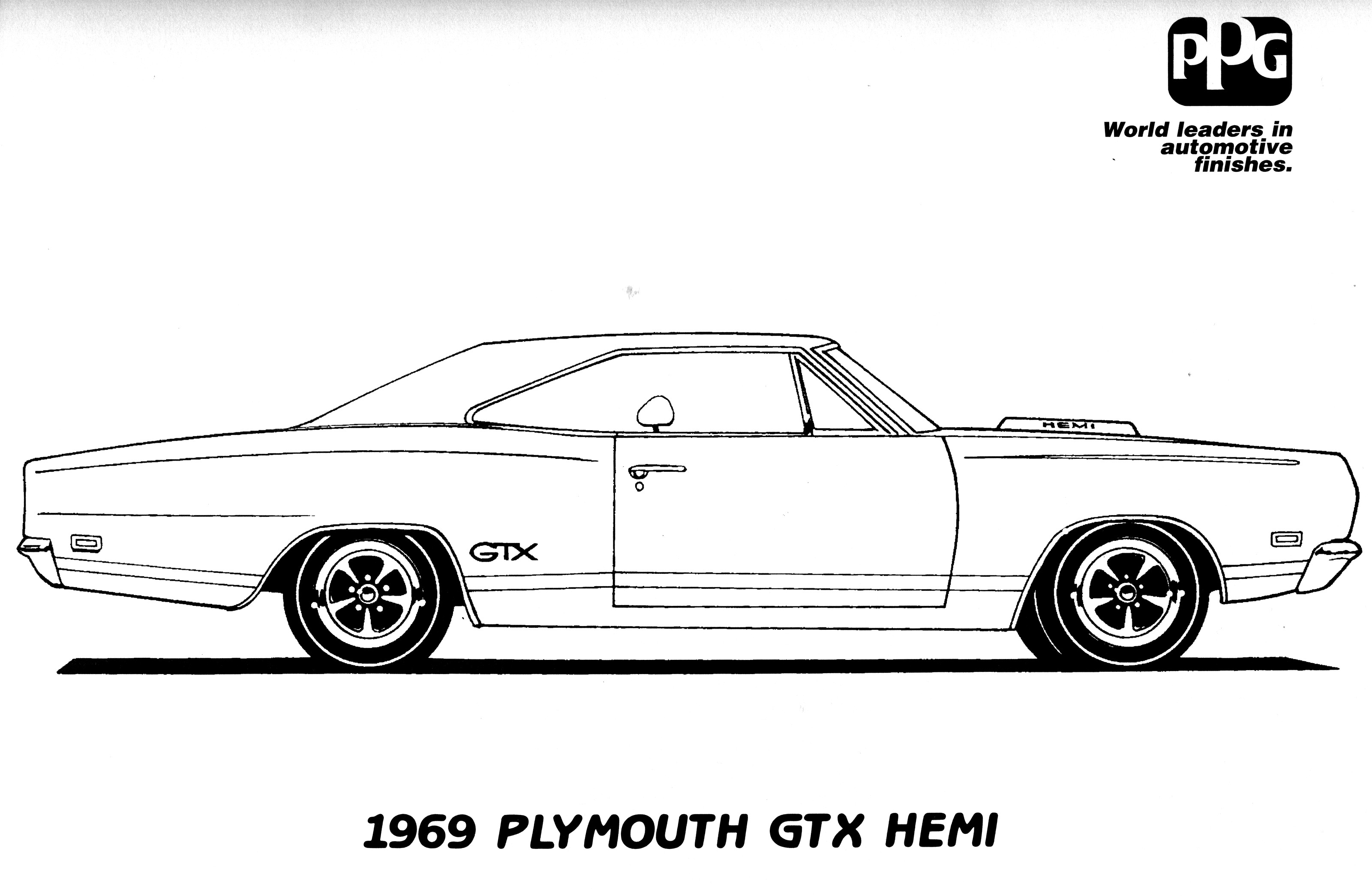 Mopar coloring #6, Download drawings