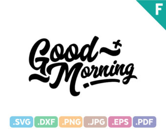 Morning svg #3, Download drawings