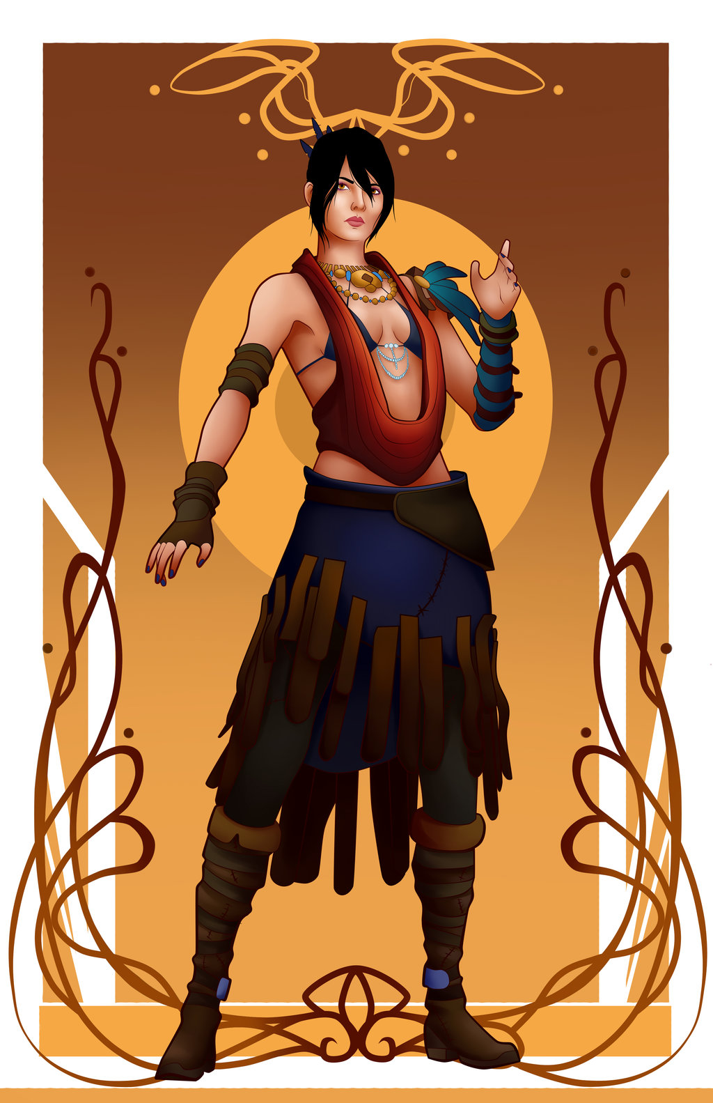 Morrigan (Dragon Age) clipart #17, Download drawings