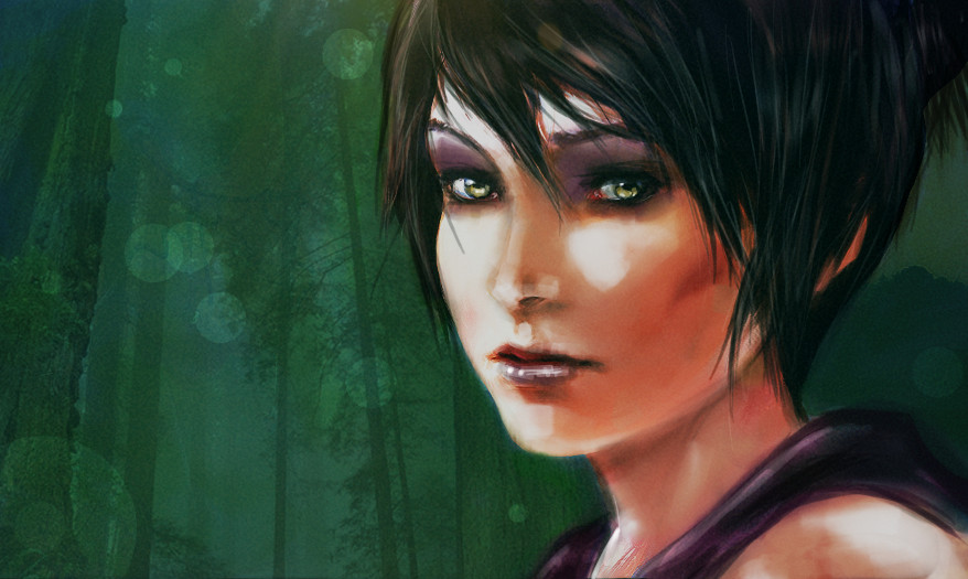 Morrigan (Dragon Age) coloring #12, Download drawings