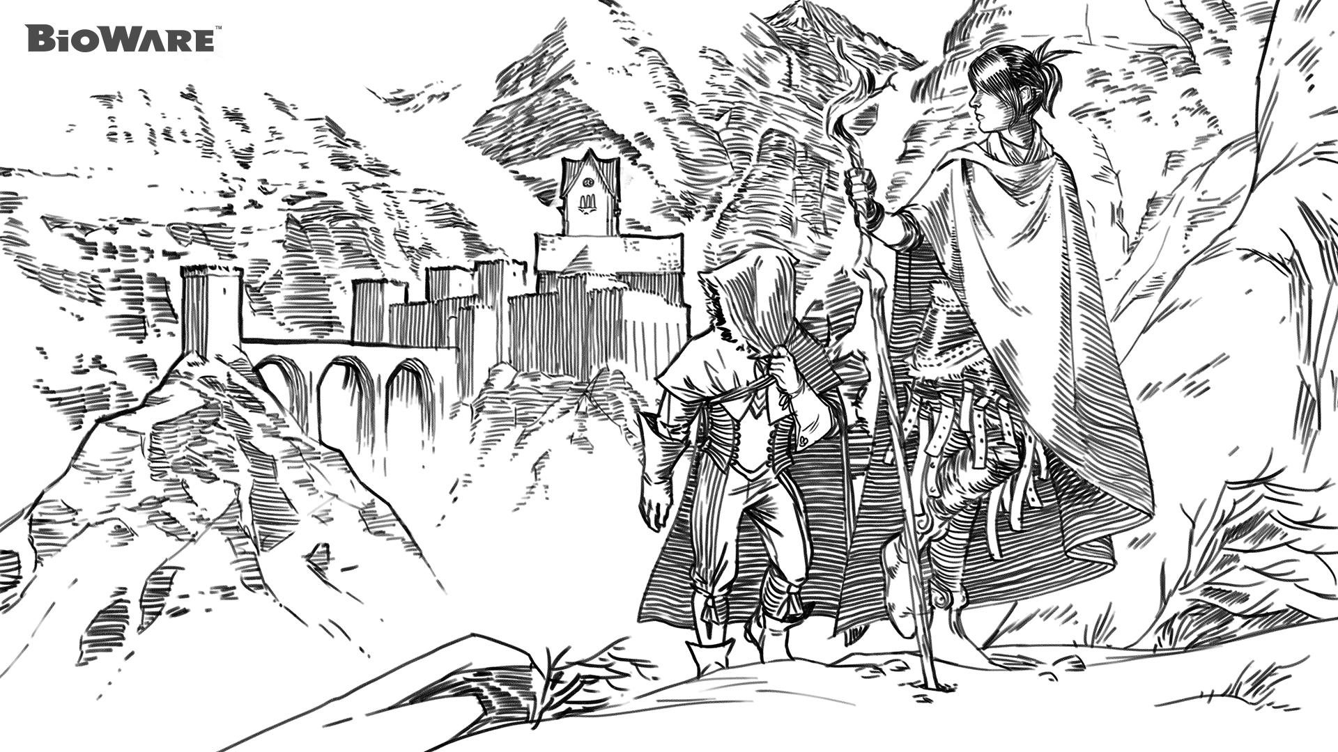 Morrigan (Dragon Age) coloring #3, Download drawings