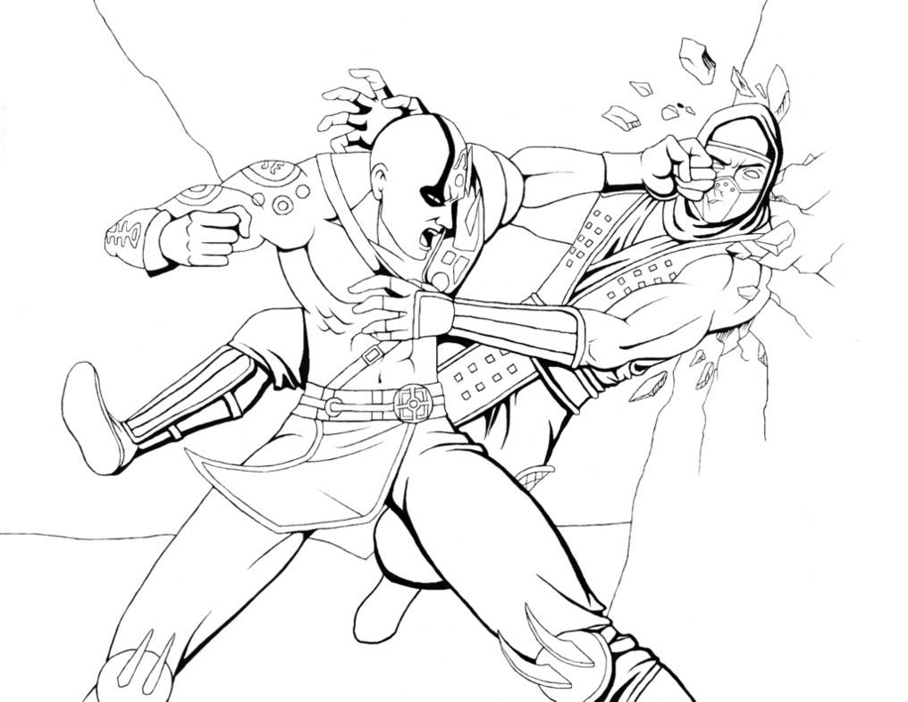 Combat coloring #1, Download drawings