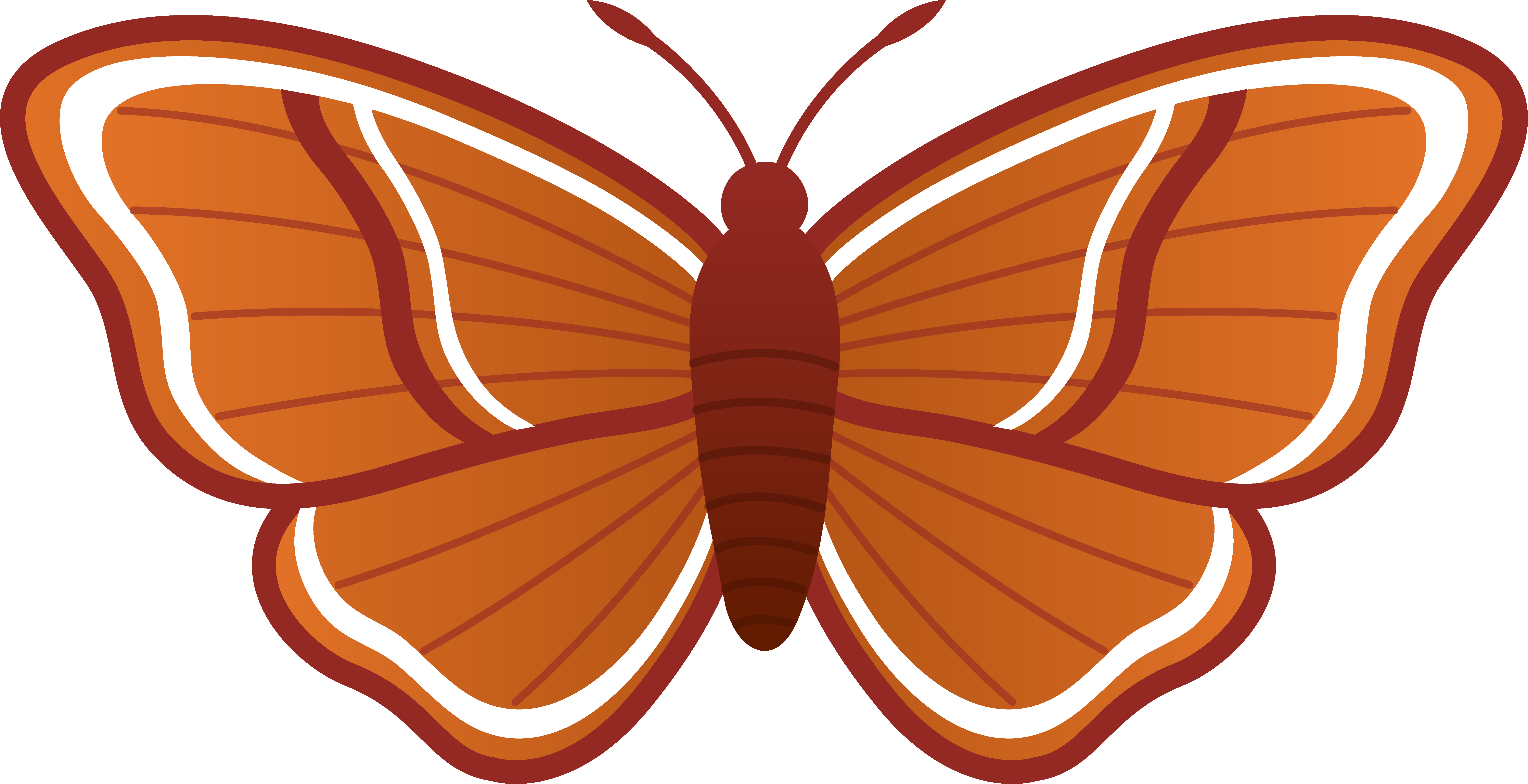 Moth clipart #3, Download drawings