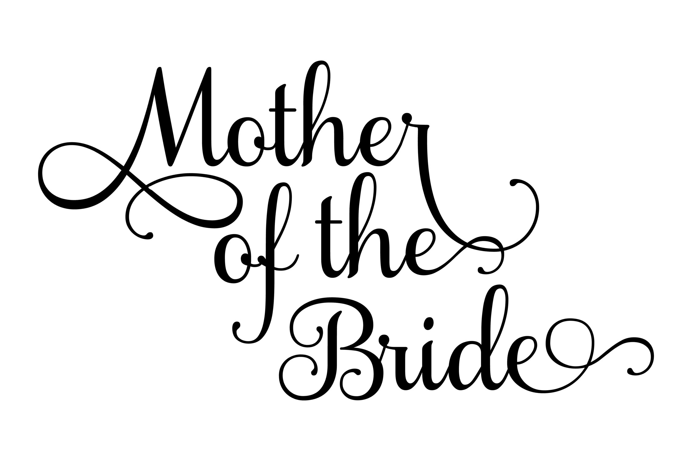 mother of the bride svg #337, Download drawings