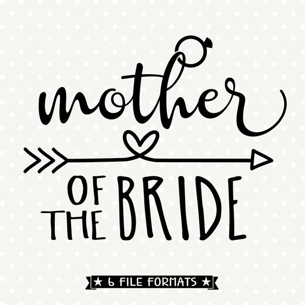 mother of the bride svg #325, Download drawings