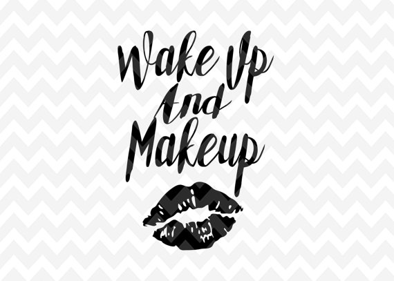 Makeup svg #19, Download drawings