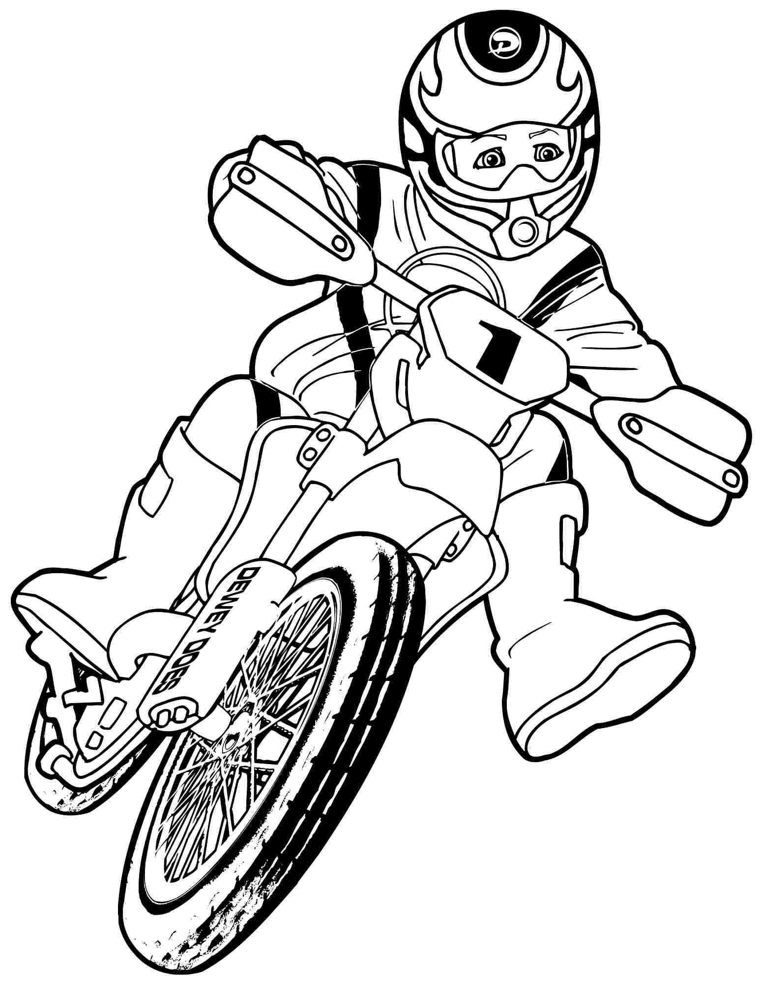 Moto coloring #2, Download drawings