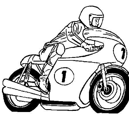 Moto coloring #12, Download drawings