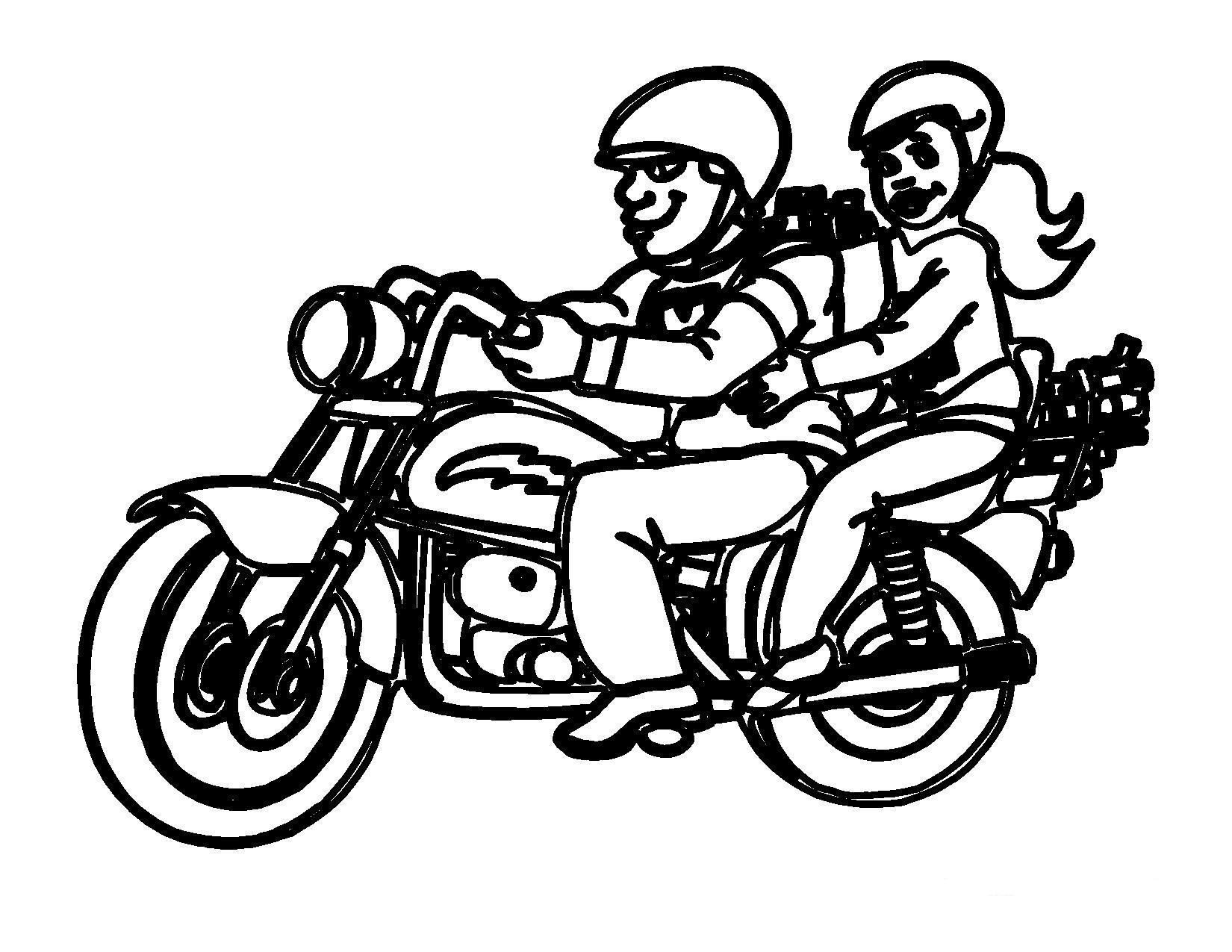 Moto coloring #15, Download drawings